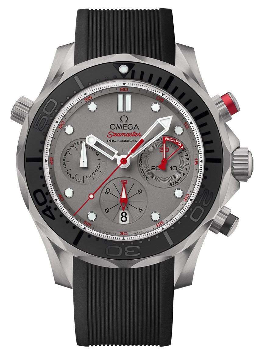 Swiss Made Omega Seamaster Diver 300M ETNZ Limited Edition Replica