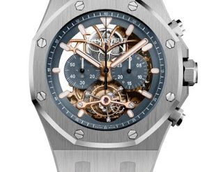 The Openworked Dial Replica Audemars Piguet Royal Oak Tourbillon Chronograph Watch Ref. 26347PT.OO.D315CR.01