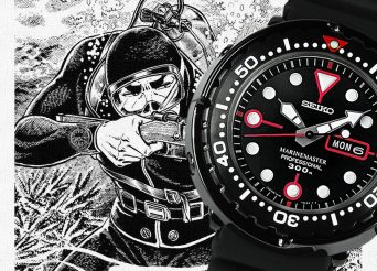 The Casual And Cheap Seiko Prospex Marinemaster Golgo 13 Quartz Diver Watch Replica