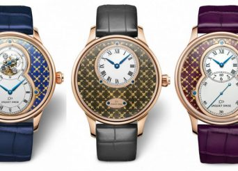 Jaquet Droz Paillonné Enameled Watch