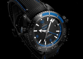 Omega Seamaster Planet Ocean Deep Black watch