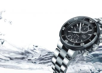 Titanium Oris Diving Prodiver Chronograph Watch