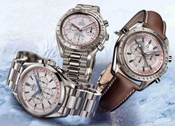 Mens Omega Torino 2006 Chronograph watch replica