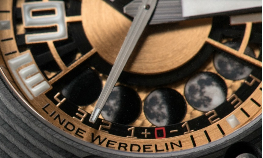 Linde Werdelin Oktopus Moon Gold 3DTP Carbon Watch Watch Releases