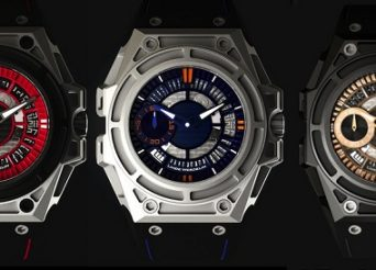 Linde Werdelin and the SpidoLite II Titanium Blue, Red, And Black Gold Watches Watch Releases
