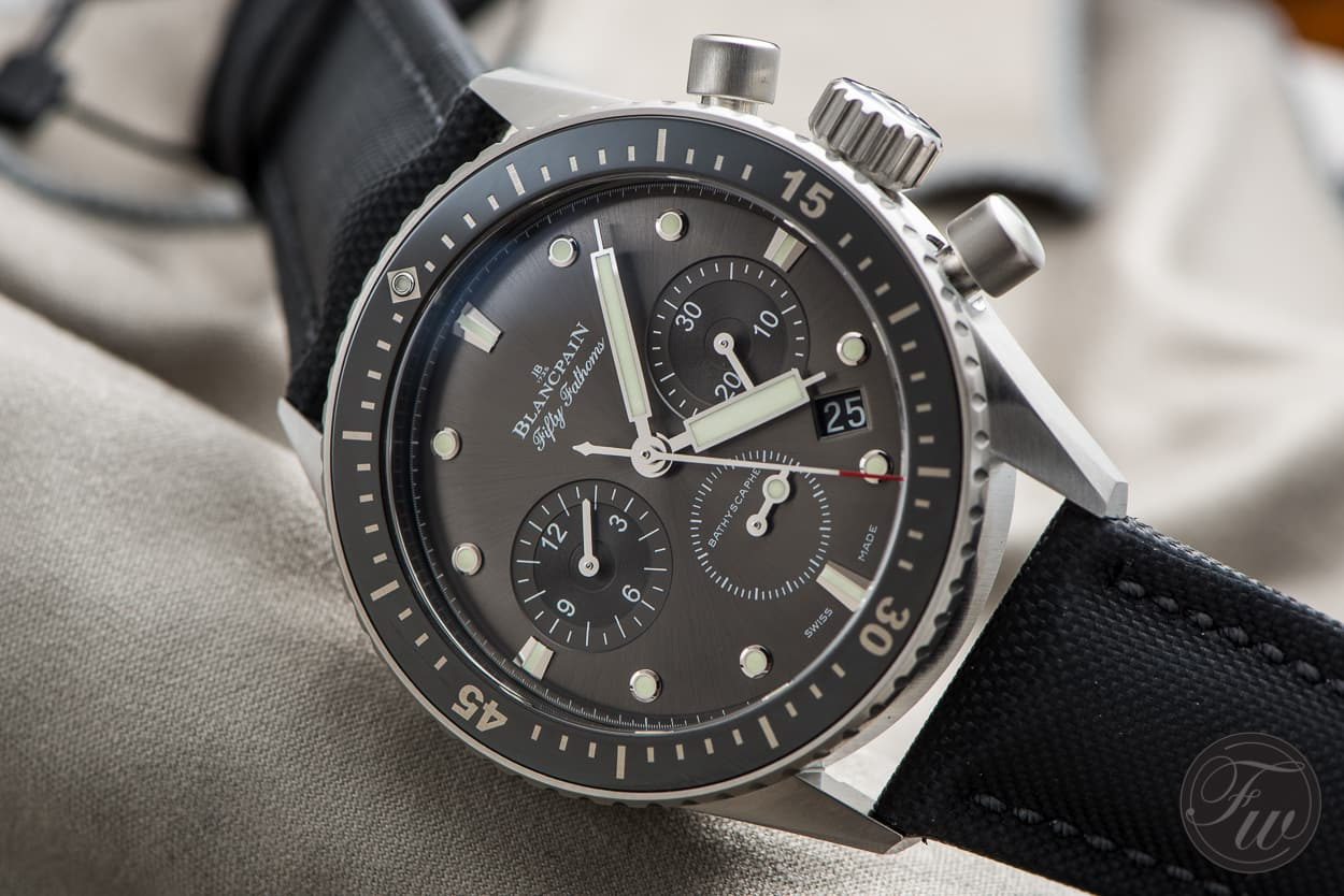 Blancpain Fifty Fathoms Bathyscape Chronograph Flyback