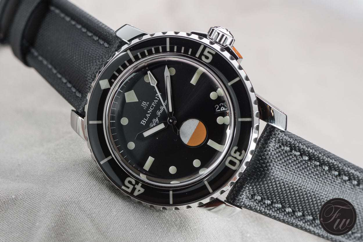 Blancpain Tribute to Fifty Fathoms MIL-SPEC-0869