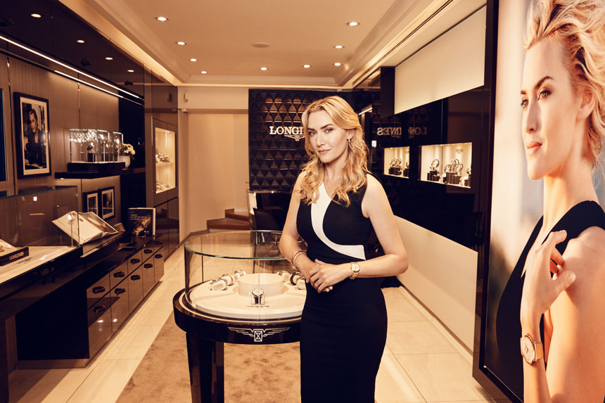 Kate Winslet And Longines Collaborate On Limited Edition Watch Release Sales & Auctions