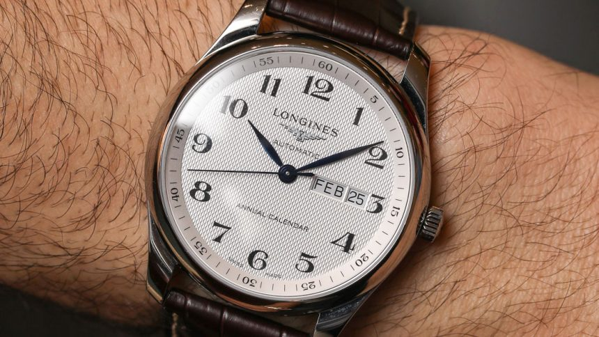 Longines Master Collection Annual Calendar Watch Hands-On Hands-On