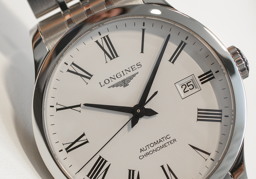 Longines Record Watch Collection Hands-On Hands-On