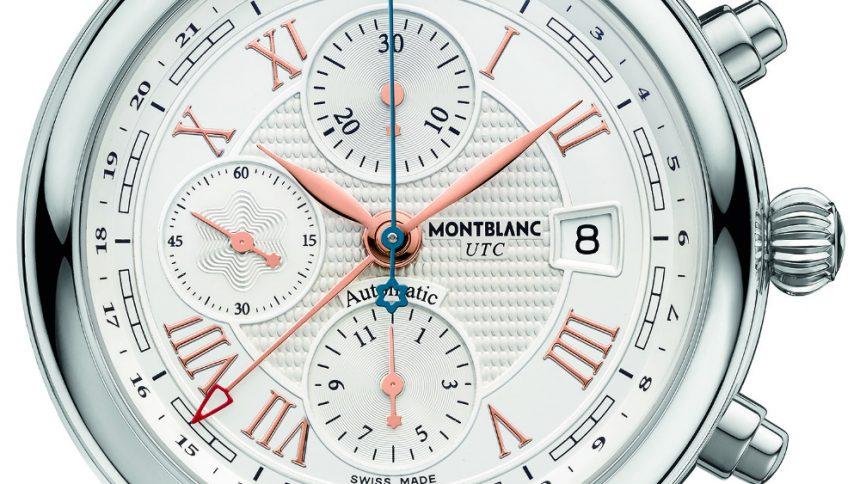 "Montblanc Star Roman Chronograph UTC ""Carpe Diem"" Special Edition replica"