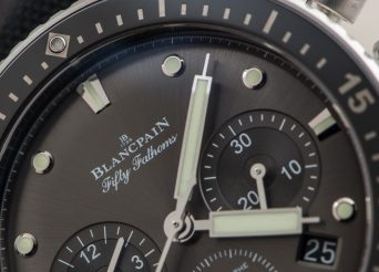 Blancpain Fifty Fathoms Bathyscaphe Replica Watch with Chronograph