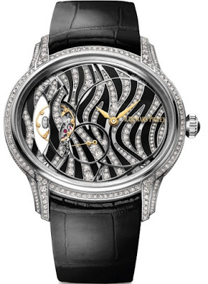 2016 New Graphic Women's Design Audemars Piguet Millenary Replica Diamonds Watch