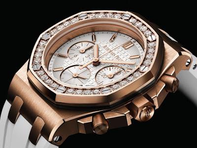 d8c31ad42c77 Audemars Piguet Replica The Diamonds Ladies Fake Audemars Piguet Royal Oak  Offshore Chronograph Replica Watch