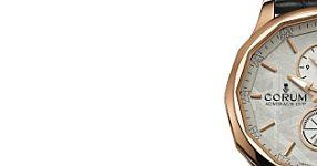 Swiss Made Replica Corum Admiral's Cup Legend 42 Meteorite Dual Time Watch