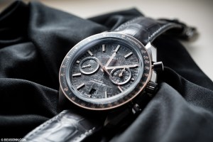 "Omega Speedmaster Grey Side of the Moon ""Meteorite"" Replica"