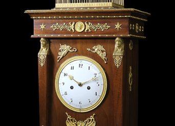 Restoration of the singing bird pendulum clock