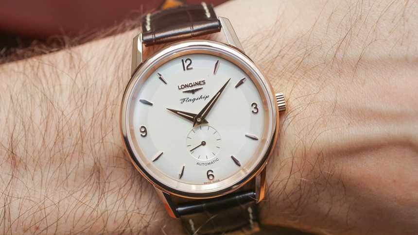 Longines Flagship Heritage 60th Anniversary Watch Hands-On Hands-On